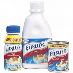 Free Ensure 8oz Sample Bottle Coupon